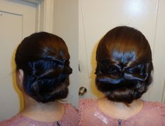 topsy tail updo hairstyle