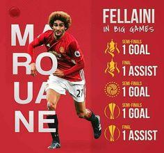 #ManchesterUnited (2013-Present) - #MarouaneFellaini #27