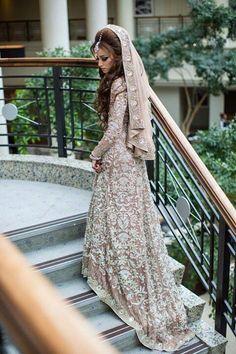 Bride in maxi dress