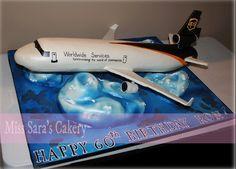 ups airplane cake