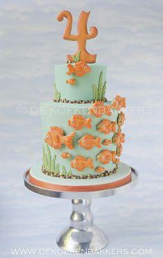 Goldfish cake