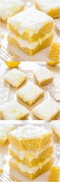 Lemon Lemonies - Like brownies, but made with lemon and white chocolate! Dense, chewy, not cakey and packed with big, bold lemon flavor! by oldrose