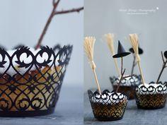 Nicest Things: DIY: Halloween Special 3 - Glowing Cupcakes