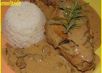 Králík s hlívovou omáčkou Thing 1, Mashed Potatoes, Food And Drink, Chicken, Meat, Ethnic Recipes, Foods, Kochen, Whipped Potatoes