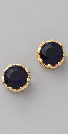 Sapphire earrings. Lovely.