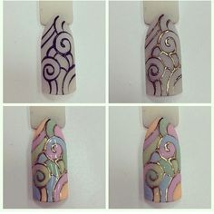 Cute Nail Art Ideas to Try - Nailschick Painted Nail Art, Acrylic Nail Art, Lace Nails, 3d Fantasy, Nail Patterns, Nagel Gel, Nail Tutorials, Perfect Nails, Nail Arts
