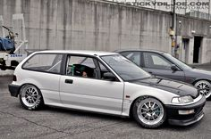 All business #Honda #Civic EF. Not a big fan of The EF but this one is nice