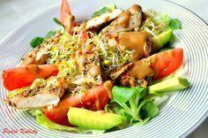 Zdrowe sałatki do pracy Easy Healthy Breakfast, Healthy Eating, Healthy Food, Cobb Salad, Potato Salad, Meal Prep, Tasty, Healthy Recipes, Meals