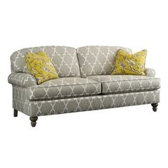 Highland House 2568-82 European Excursions  Styles Emily Legged Sofa available at Hickory Park Furniture Galleries