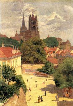 Felix Vallotton (1865-1925): Ansicht von Lausanne