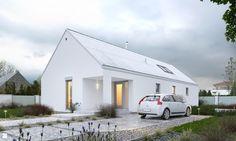 Domy styl Minimalistyczny - zdjęcie od DOMY Z WIZJĄ - nowoczesne projekty domów - Domy - Styl Minimalistyczny - DOMY Z WIZJĄ - nowoczesne projekty domów