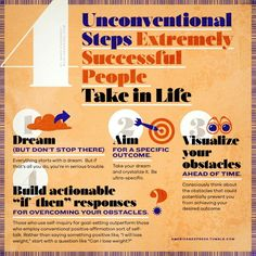 4 Steps Exremely Successful People Take in Lif.