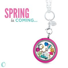 Spring opens us  up to the  possibilities of new adventures - whether it be on the road or in the sky, adventure awaits! #origamiowl #jewelry #locketsncharms