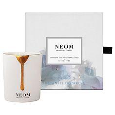 £36.00 NEOM ORGANICS LONDON REAL LUXURY INTENSIVE SKIN TREATMENT CANDLE 140 G http://britishmums.com/dubai/shop/neom-organics-london-real-luxury-intensive-skin-treatment-candle-140-g/