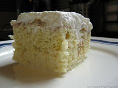 Traditional tres leches cake is a butter or sponge cake soaked with a mixture of three different kinds of milk (condensed, evaporated, and cream), . Chilean Desserts, Chilean Recipes, Cuban Recipes, Sweet Recipes, Cake Recipes, Dessert Recipes, Chilean Food, Spanish Recipes, Dessert Ideas