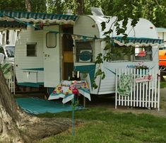 Journeys With Judy: Vintage Travel Trailer Rally - Corning CA