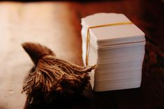 100 White Paper Tags & Twine Ties  Wedding by thelittlebundle, $20.00