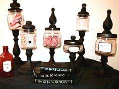 Apothecary Jars, halloween diy, halloween crafts, halloween projects, halloween craft ideas, Halloween, blogs, decorations, DIY