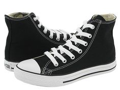 Converse Kids Chuck Taylor® All Star® Core Hi (Toddler/Youth) Black - Zappos.com Free Shipping BOTH Ways