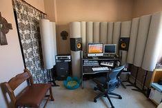 setting up tube traps studio - Google Search Tube, Curtains, Google Search, Studio, Home Decor, Blinds, Decoration Home, Room Decor, Studios