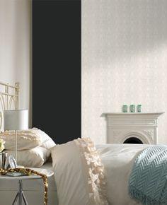 Cameo Stripe paintable wallpaper