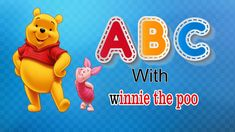 ABC with Winnie the Pooh Alphabet song abcdefghijklmnopqrstuvwxyz Alphabet Song For Kids, Alphabet Songs, Phonics Song, Kids Songs, Your Child, Winnie The Pooh, Toddlers, Teaching, Disney Characters