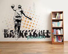 Wallpaper Sticker BASKETBALL 1 PASSION by Sticky!!!