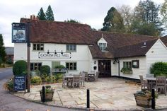 Gomshall Mill Inn, Gomshall, Guildford, Surrey - Favourite for a romantic 3 course dinner date