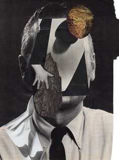 "Saatchi Online Artist Charles Wilkin; Collage, ""You Will Never Know"" #art"
