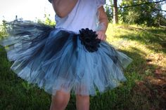 Aqua and Black tutu $18.This tutu can be made into any size from newborn up to adult sizes! This is handmade by Tutu Cute N Sweet where you can find the store on www.etsy.com/..., Facebook, and shopinterest.co