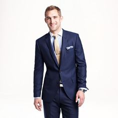 Ludlow suit jacket with double vent in Italian cashmere - wool suiting - Men - J.Crew