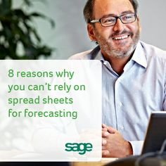 Sage CRM - 8 reasons why you can't rely on spread sheets for forecasting