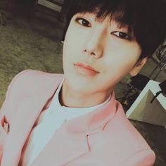 Yesung twitter update 11/5/2015 ----------------Pink Man