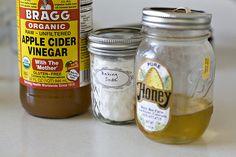 Vinagre de manzana y bicarbonato de sodio en lugar de shampoo y acondicionador