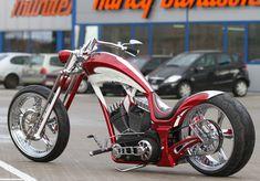Benutzerdefinierte Baggers Cafe Racer - I Love Motorrad Custom Baggers, Custom Choppers, Custom Motorcycles, Custom Bikes, Bagger Motorcycle, Motorcycle Style, Lowrider, Custom Street Glide, Orange County Choppers
