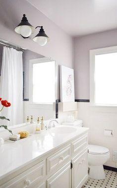 Purple Bathroom Paint Bathrooms Colors Ideas Young House Love