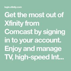 Sign in to watch Xfinity TV online Networking Websites, Cozy Basement, Pop Stickers, Tv Services, Memories Quotes, Beautiful Interior Design, Security Service, Home Upgrades, School Organization