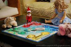 board games elf on the shelf