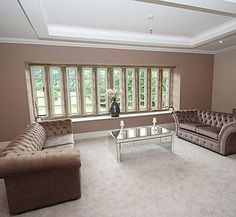Living Room | The Broughton Residence | Holme Hall Manor Development