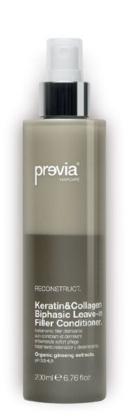 Previa Haircare – Made in Italy | Keratin & Collagen Hair Filler System