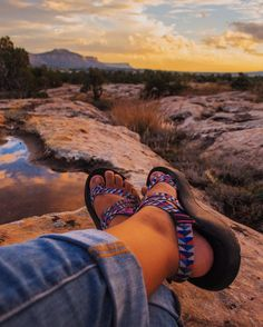 @yanaarviso kickin' it beneath a Colorado sunset.  #ChacoNation