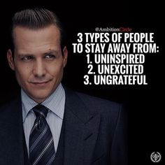 3 tip insandan uzak durun: 1 - sönük. 2 - heyecansız. 3 - nankör.