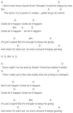 Paramore - Last Hope Chords Capo 3