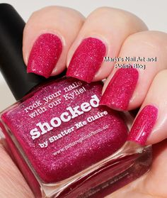 Marias Nail Art and Polish Blog: Picture Polish Shocked swatches