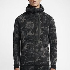 Nike Tech Fleece Camo Full-Zip