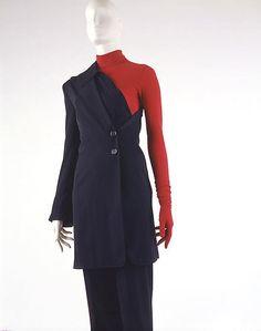 Belgian Ensemble   fall/winter 1996–97 wool synthetic  Ann Demeulemeester (1959)          Belgian