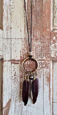 Dream Collar plumas atcher Necklace