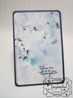 Stampin' Up! by Stampin Jacqueline: Watercolor Wishes en Balloon Celebration