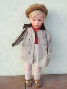 Alte Käthe Kruse Puppe Friedebald 30er Jahre | eBay