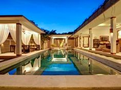 Check out this awesome listing on Airbnb: SEMINYAK Superb Villa - Jacuzzi+Pool bar - 10 pax - Villas for Rent in North Kuta Narrow Garden, Jacuzzi Outdoor, Pool Picture, Villa With Private Pool, Minimalist Architecture, Resort Villa, Green Garden, Tropical Garden, Kuta